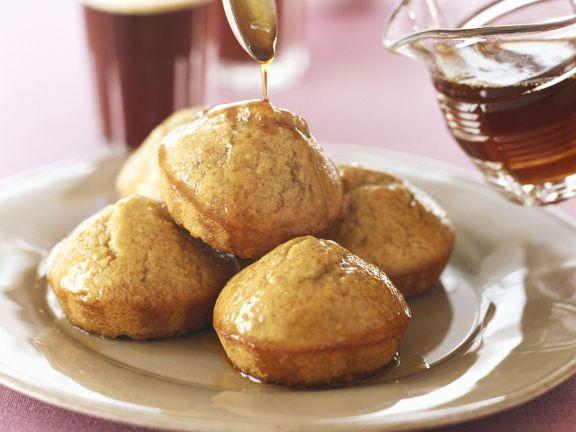 Honig-Muffins mit Sirup