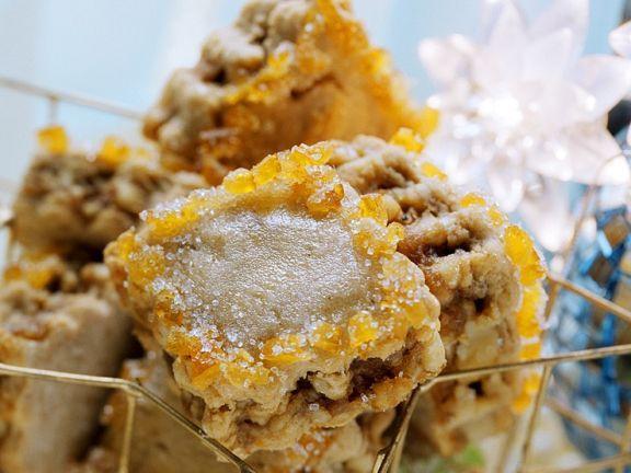 Honigecken mit Walnüssen