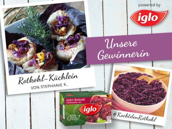 Gewinner-Rezept: Leckere Rotkohl-Küchlein