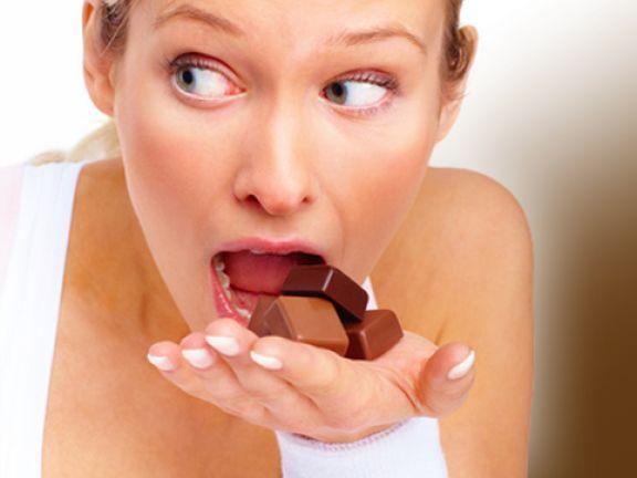 Süßigkeiten widerstehen