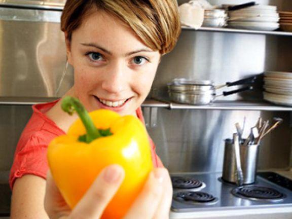 Lernen Sie kalorienarm zu kochen