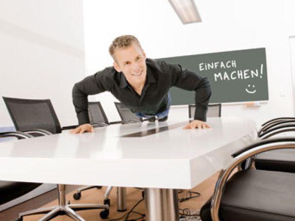 Büro-Diät mit Patric Heizmann (Foto: Udo Bojahr)