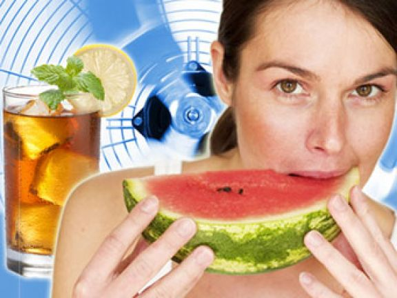 Ernährung an heißen Tagen