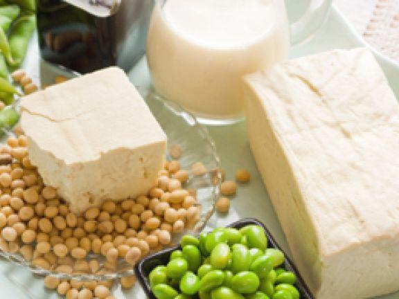 Sojaeiweiß ist cholesterinfrei