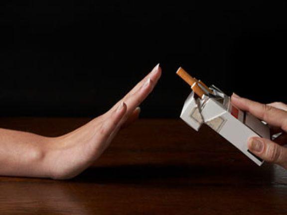 Nein-Sagen zur Zigarette