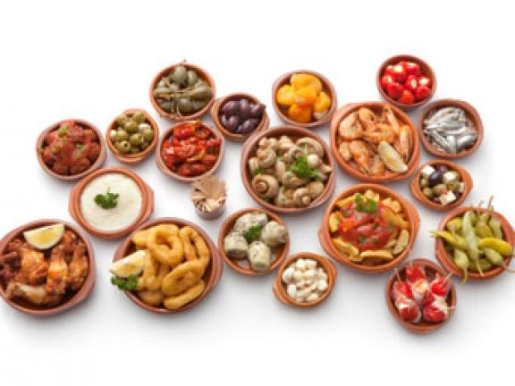 kalorienarme Snacks für die EM