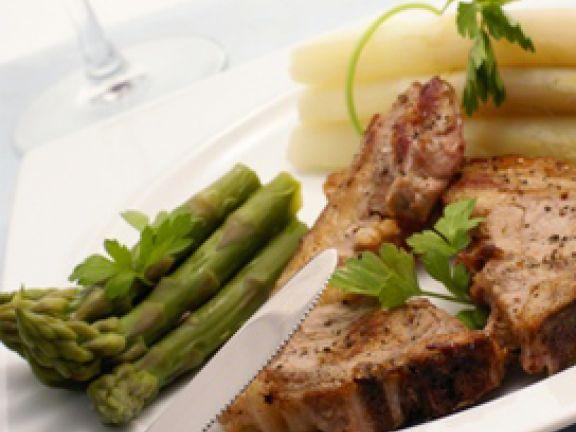 Bestes Fleisch auf dem Teller