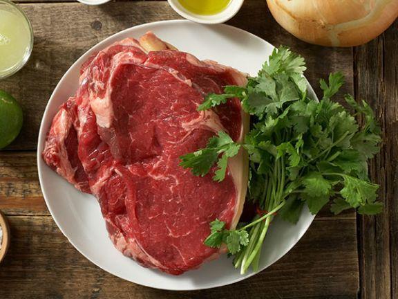 Eine gleichmäßige Marmorierung steht für gute Fleisch-Qualität.