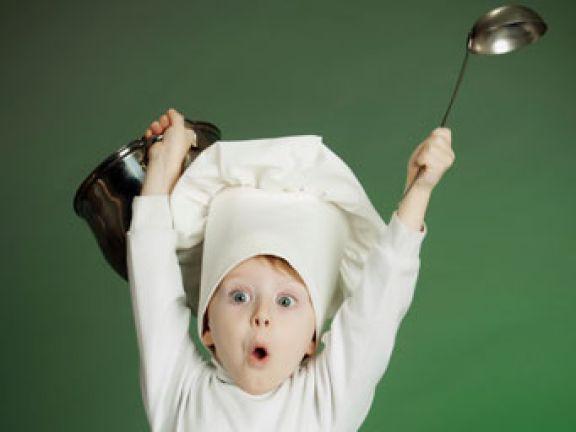 Nachhaltig kochen für Kinder