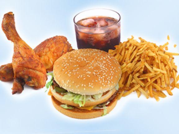 King Fast Food Menu