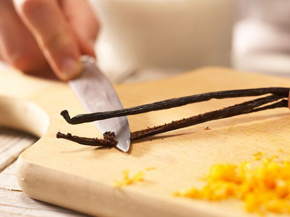 Vanillisieren: Geben Sie Ihrer Creme Aroma.