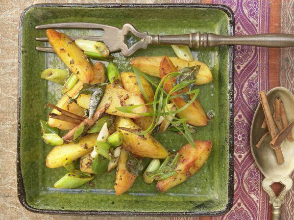 Indische Kartoffeln