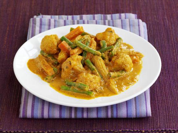 Indisches Gemüse Curry
