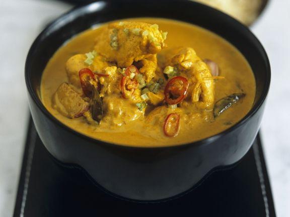 Indisches Hähnchencurry (Chicken Korma)