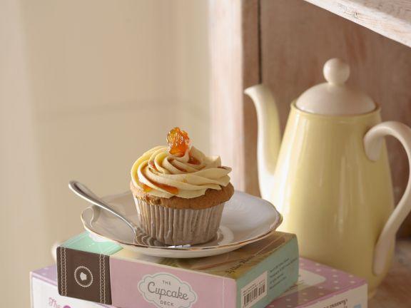 Ingwer-Möhren-Cupcake