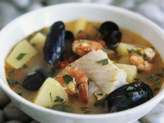 Italienische Fischsuppe
