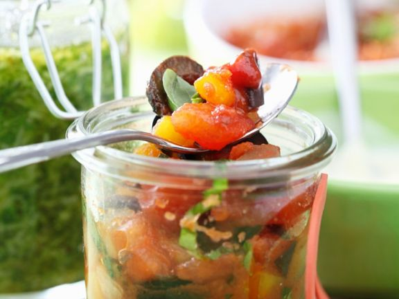 Italienisches Gemüse eingelegt