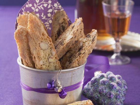 Italienisches Mandelgebäck (Cantuccini)