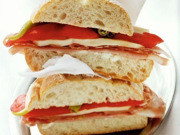 Italienisches Sandwich