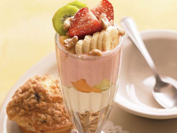 Joghurt-Frucht-Becher