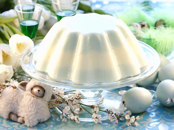 Joghurt-Minzpudding