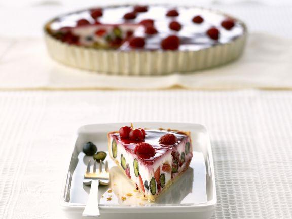 Joghurtkuchen mit Sommerbeeren
