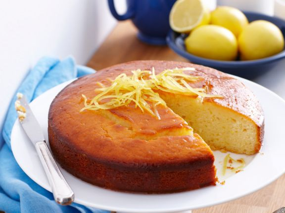 Joghurtkuchen mit Zitrone