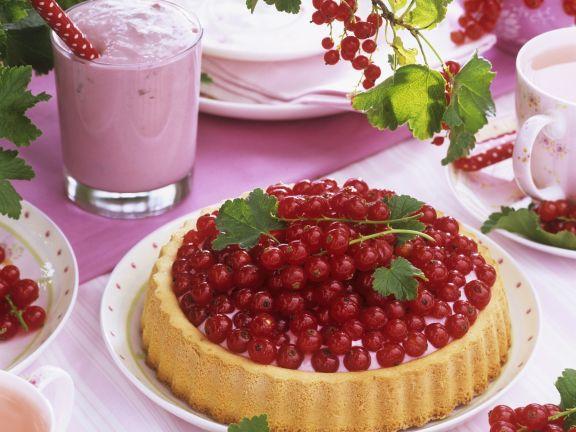 Johannisbeer-Quark-Kuchen