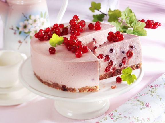 Johannisbeer-Quark-Torte