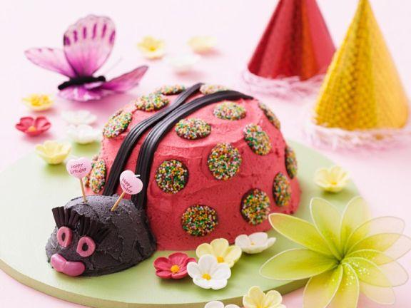 Käfer-Kuchen für Kinder