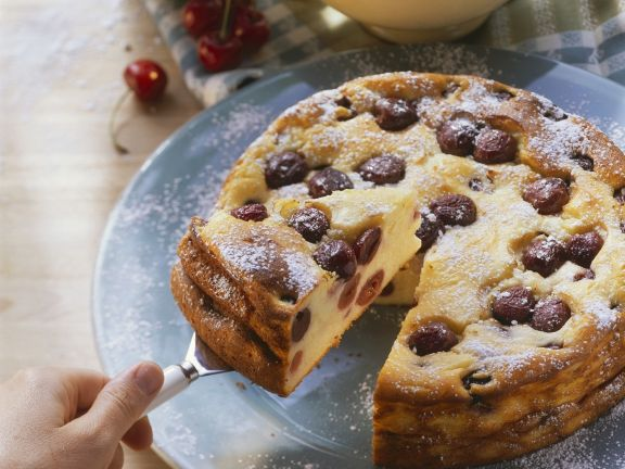 Kase Kirsch Kuchen Rezept Eat Smarter