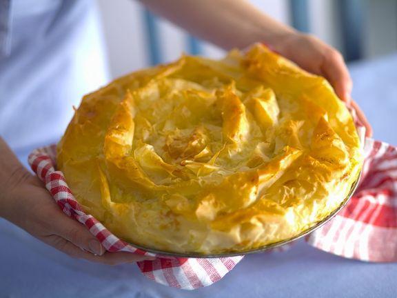 Käse-Teigtaschen