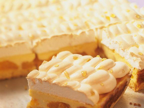Kasekuchen Mit Mandarinen Und Baiser Rezept Eat Smarter