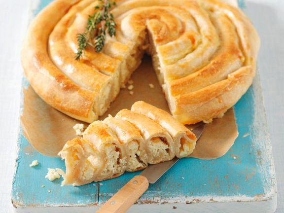 Käseschnecke nach Bosnischer Art