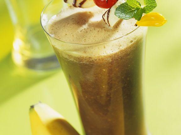 Kaffee-Bananensmoothie