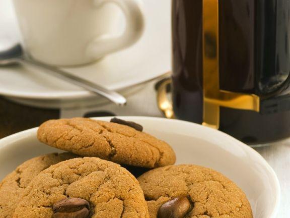 Kaffee-Cookies