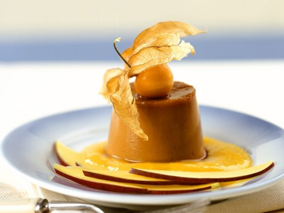 Kaffee-Creme caramel