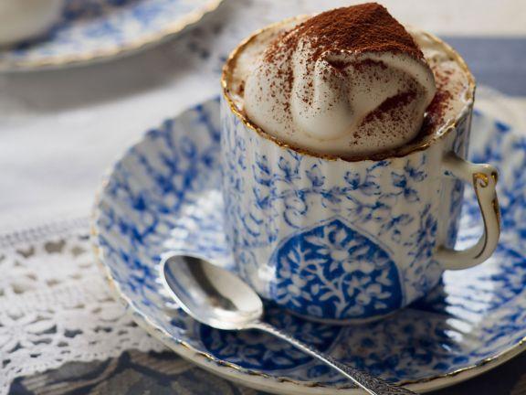 Kaffee mit Baiser