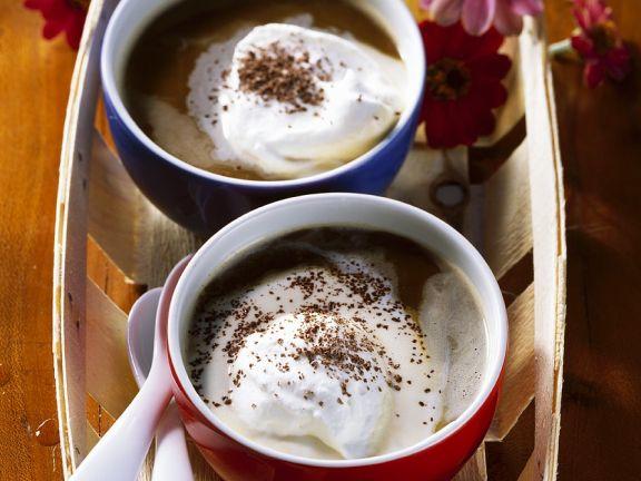 Kaffee mit Eierlikör