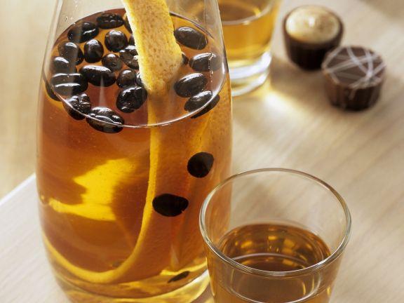 Kaffee-Orangen-Likör