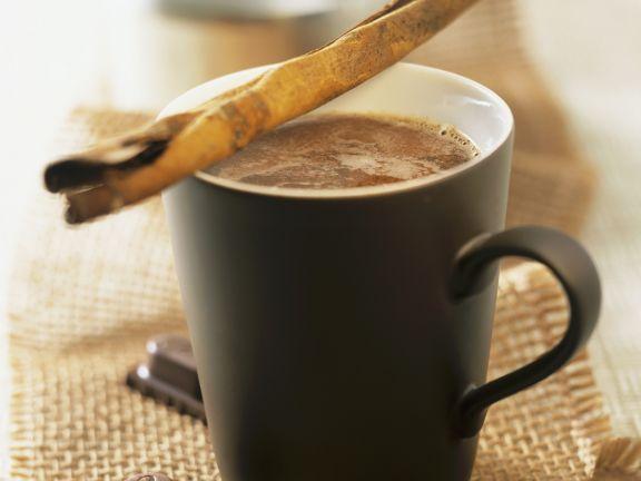 Kaffee-Schokolade auf mexikanische Art