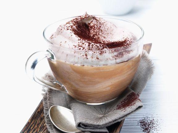 Kaffee-Schokoladencreme
