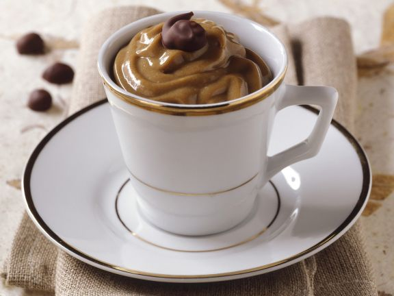 Kaffeecreme auf italienische Art
