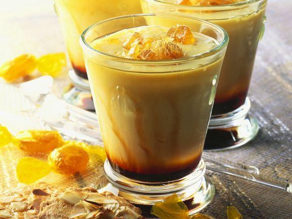 Kaffeecreme mit Honig