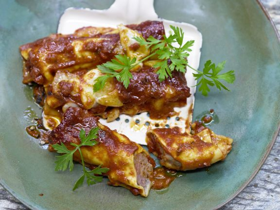 Kalbfleisch-Cannelloni