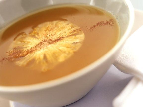 Kalte Ananassuppe