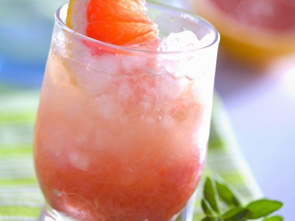 Kalter Grapefruitdrink