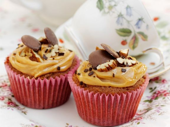 Karamell-Cupcakes