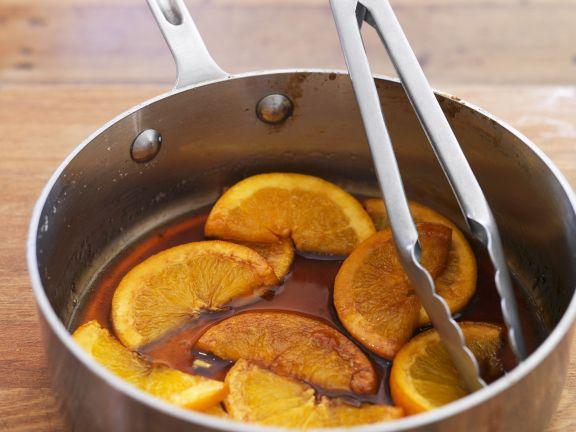 Karamell-Orangen