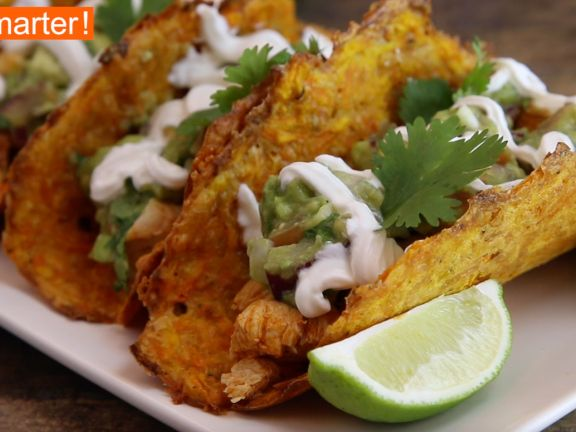 Karotten Taco-Shells